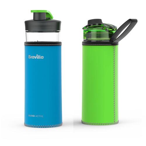 Breville Blend Active Bottle Reversible Sleeve - Blue/Green