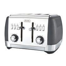 Strata 4 Slice Toaster, Matt Grey