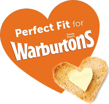 perfect fit for Warburton's bread