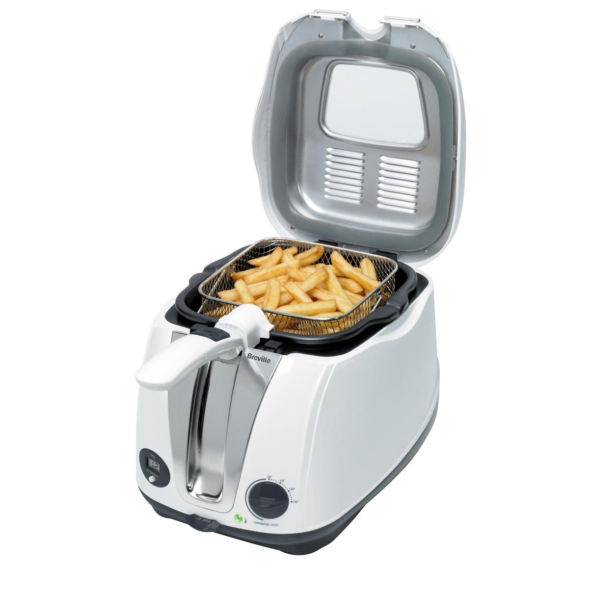 Digital Deep Fat Fryer 2l Oil 1kg Capacity Vdf108
