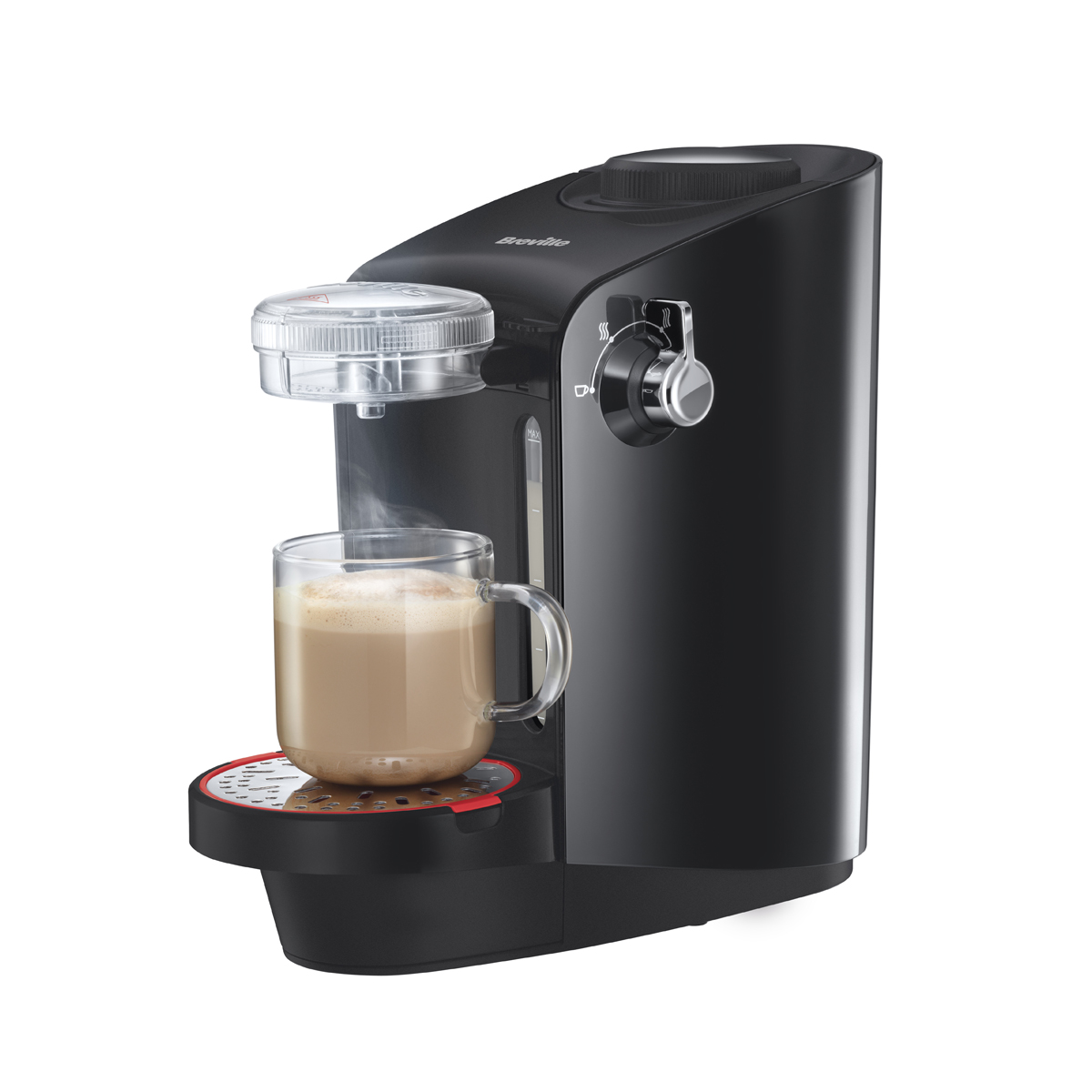 Coffee Maker Makes Hottest Coffee : Breville Moments Instant Coffee Machine and Hot Drink Maker