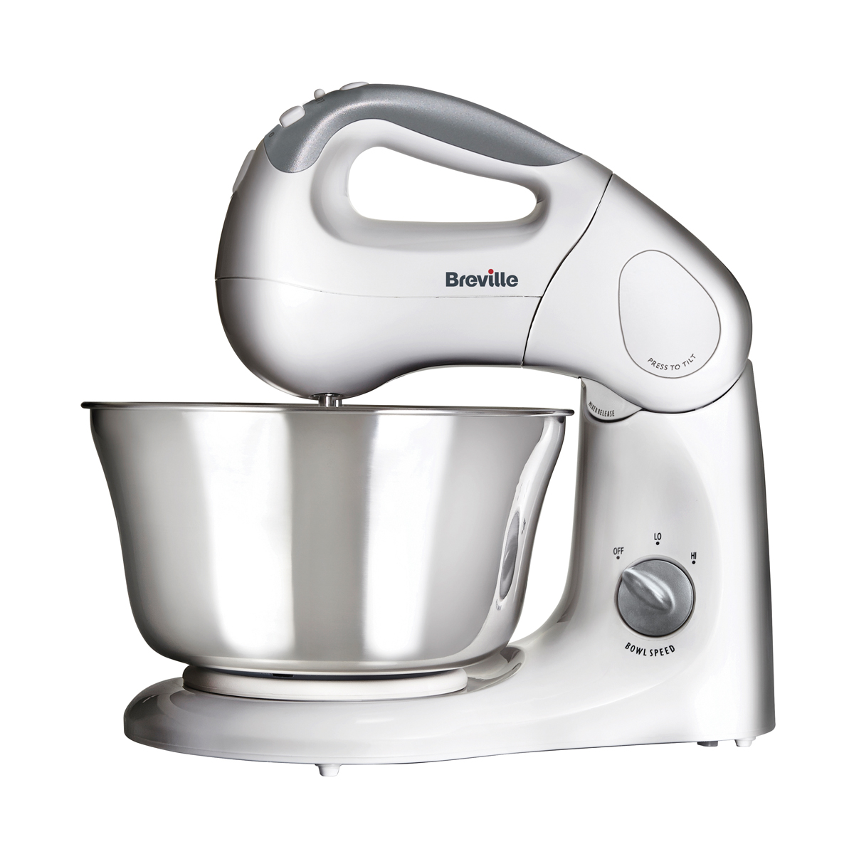 Hand Food Mixer ~ Shm stand and hand food mixer with twin motor breville