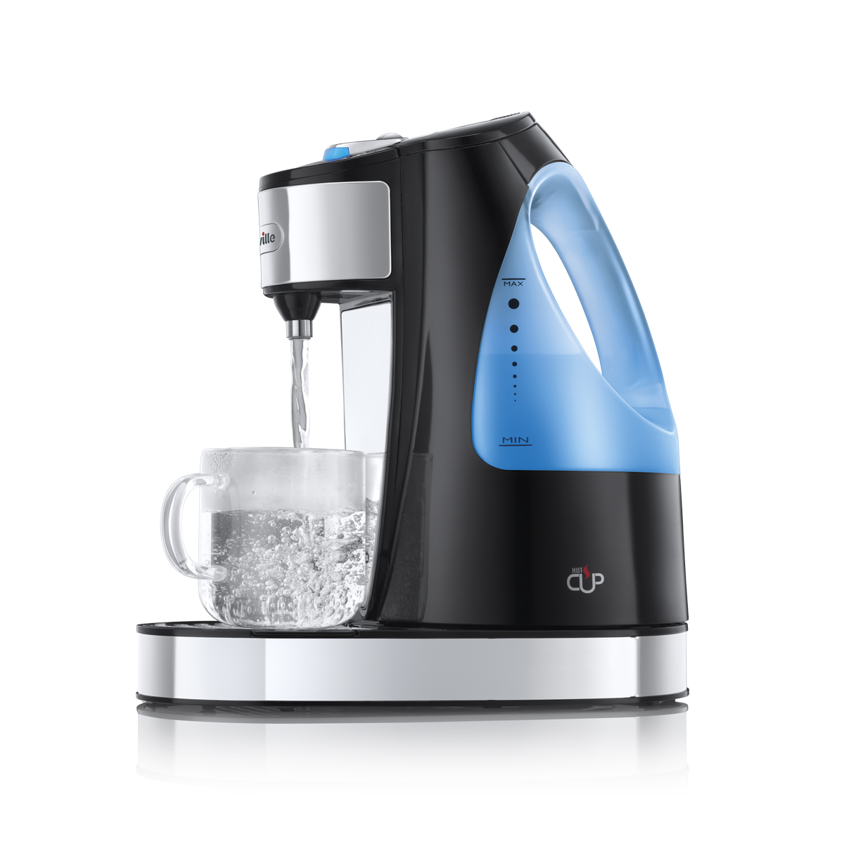 one cup hot water dispenser vkj142 breville. Black Bedroom Furniture Sets. Home Design Ideas