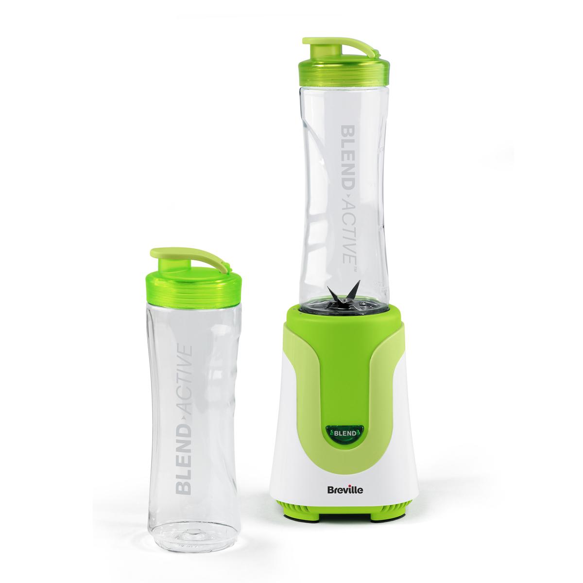 Breville Blend Active Personal Blender with x2 600ml Bottles, Green