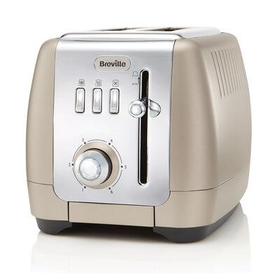 Strata Luminere 2 Slice Toaster, Platinum