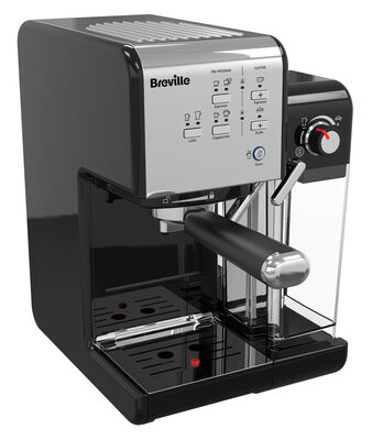 One Touch Coffeehouse Black Chrome Breville