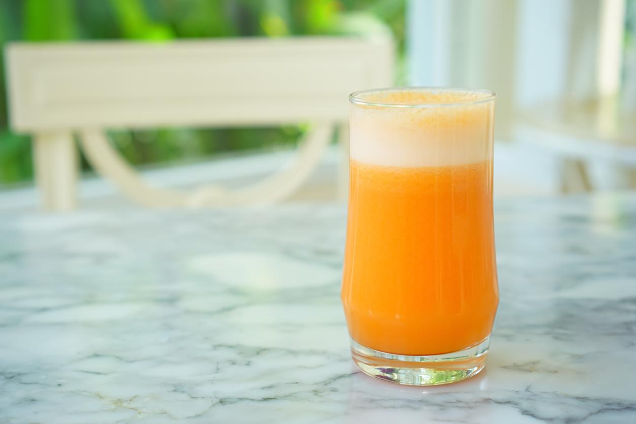 image of fruit smoothie