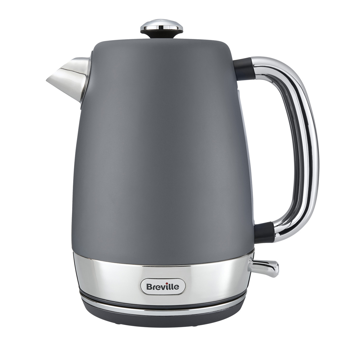 Strata Collection Jug Kettle And Toaster Set Grey Strata
