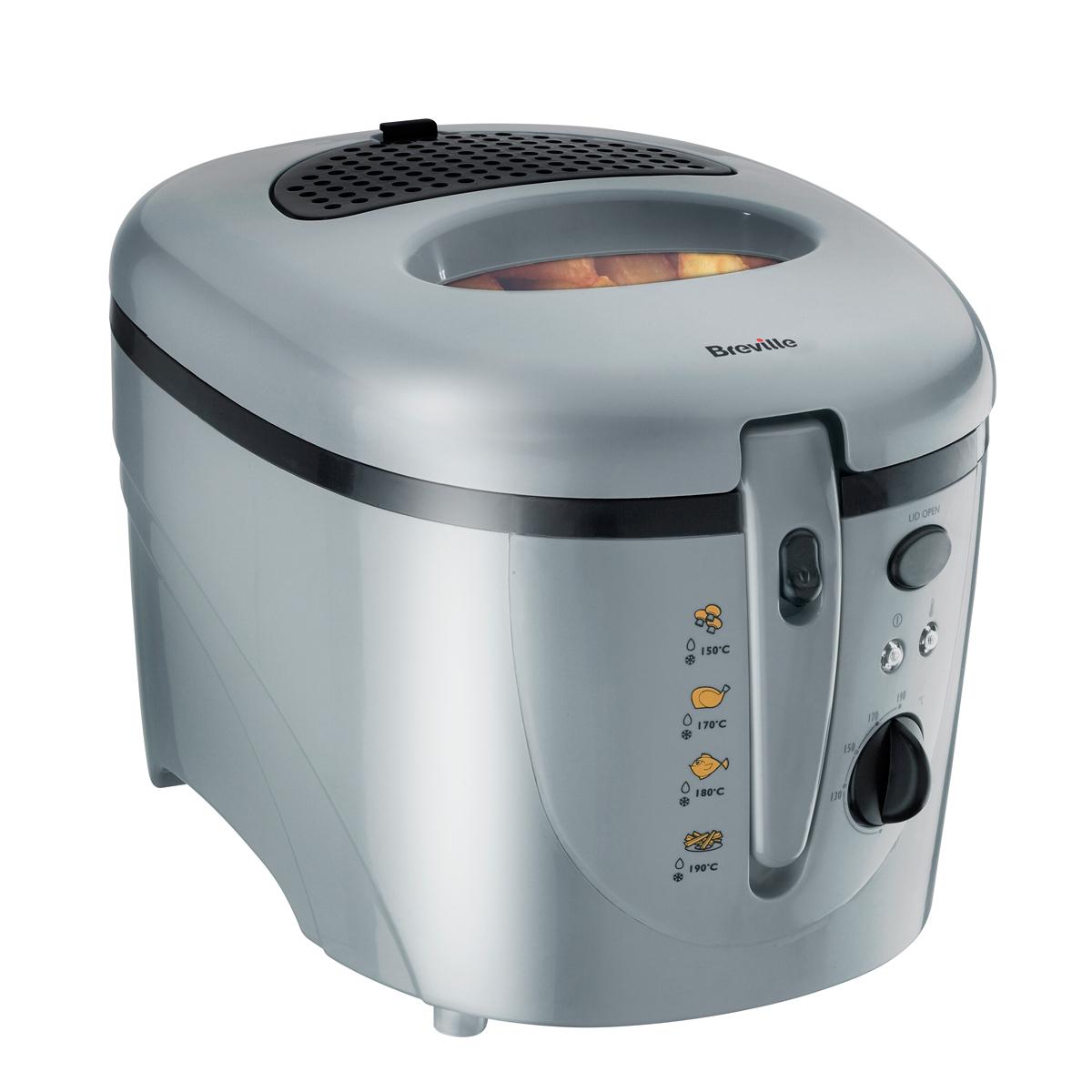 2l Oil 1kg Food Deep Fat Fryer Plastic Vdf054 Breville