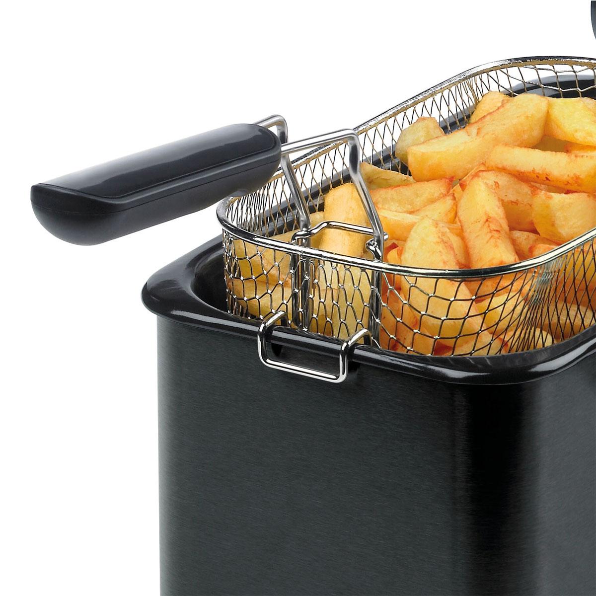 Black Deep Fat Fryer, 3L, 1Kg - VDF112 | Breville