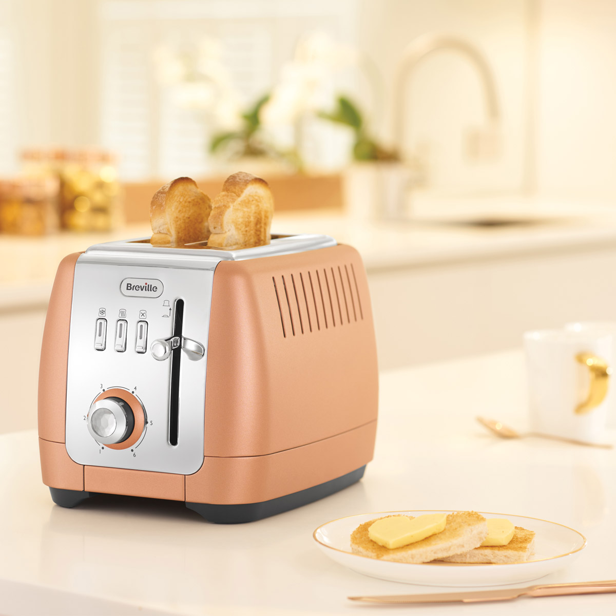 Strata Luminere 2 Slice Toaster Breville