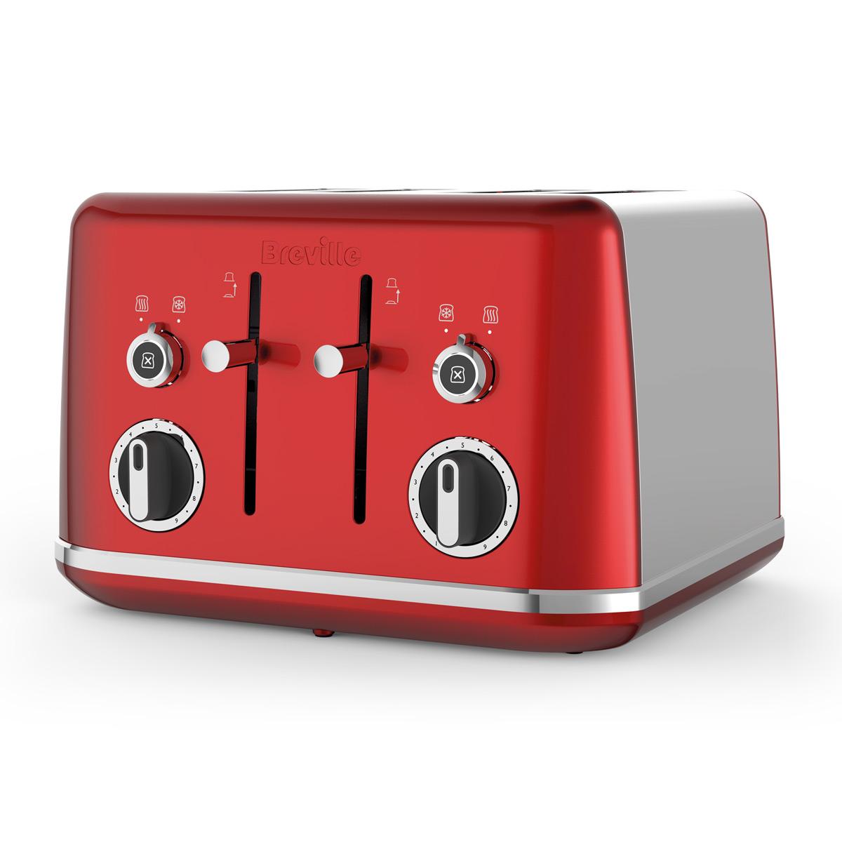 lustra kettle and toaster set candy red breville. Black Bedroom Furniture Sets. Home Design Ideas