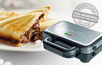 the breville deep fill sandwich toaster